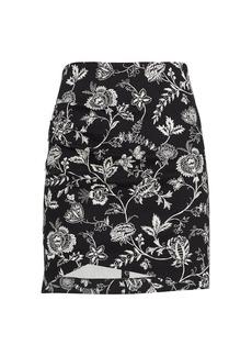 Derek Lam Agatha Floral Mini Skirt