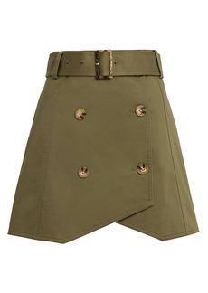 Derek Lam Army Trench Skirt