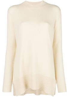 Derek Lam asymmetric crew-neck sweater