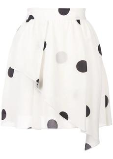 Derek Lam Asymmetrical Mini Skirt