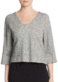 Derek Lam Back Cutout Top