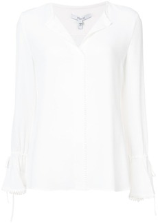 Derek Lam bell-sleeved button blouse