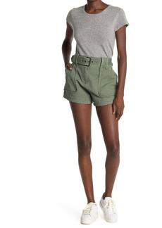 Derek Lam Belted Utility Pocket Shorts