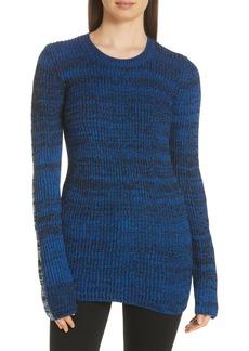 Derek Lam Bi-Color Crewneck Sweater
