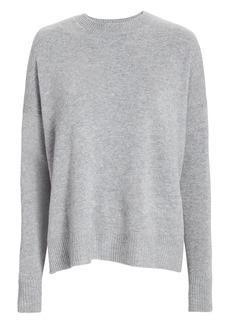 Derek Lam Boxy Cashmere-Blend Grey Sweater
