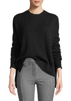 Derek Lam Boxy Cashmere Crewneck Sweater