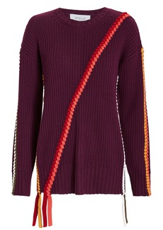 Derek Lam Braid Detail Sweater