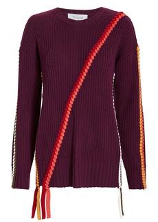 Derek Lam Braid Detail Sweater