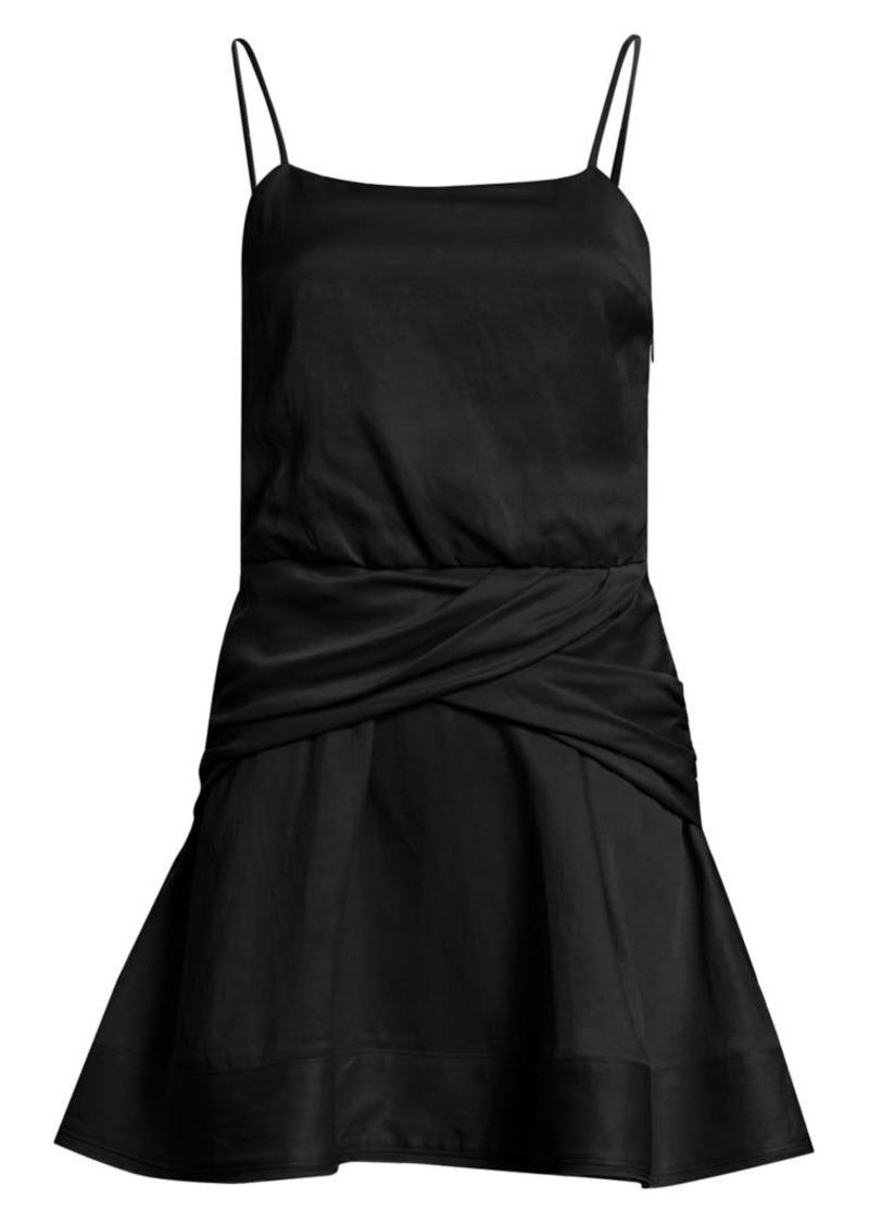 Derek Lam Cami Flounce Mini Dress
