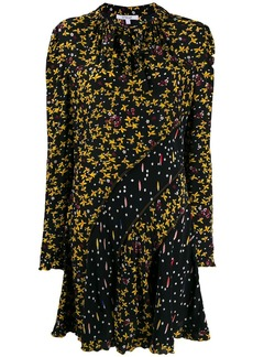 Derek Lam Catia Mixed Jasmine Floral Print dress