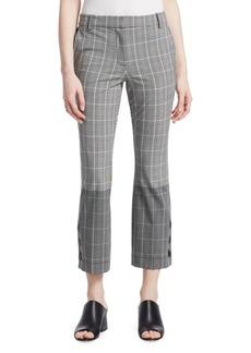 Derek Lam Checked Button Pants
