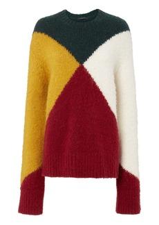 Derek Lam Colorblock Oversized Sweater