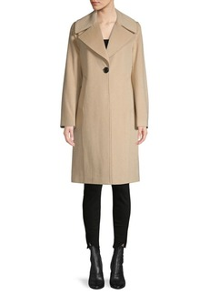 Derek Lam Colorblock Wool-Blend Coat