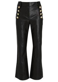 Derek Lam Corinna Vegan Leather Sailor Pants
