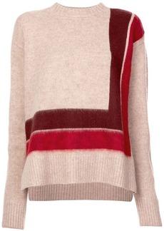 Derek Lam Crewneck Blanket Sweater