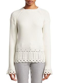 Derek Lam Crochet Pullover