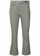 Derek Lam Cropped Flare Trouser with Tab Details