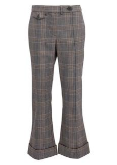 Derek Lam Cropped Flare Trousers
