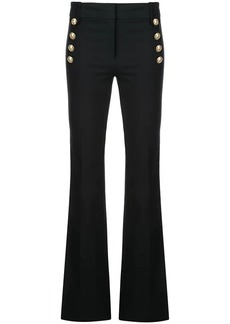 Derek Lam Crosby Flare Trouser with Sailor Buttons