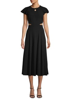 Derek Lam Cutout Midi Dress