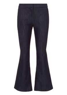 Derek Lam Denim Crop Flare Trousers