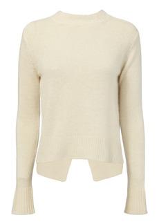 Derek Lam Ring-Detailed Open Back Sweater