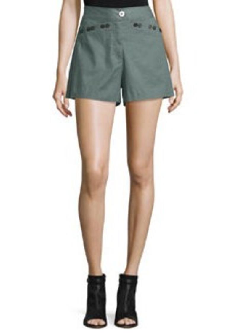 Derek Lam 10 Crosby Linen-Blend Sailor Shorts