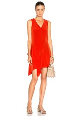 DEREK LAM 10 CROSBY Asymmetrical Tank Dress