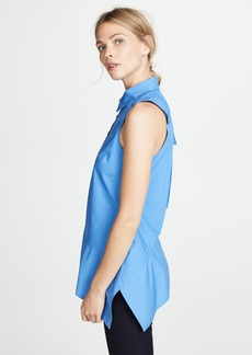 Derek Lam 10 Crosby Asymmetrical Top