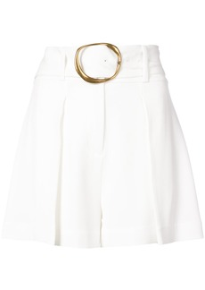 Derek Lam 10 Crosby Belted Short - White