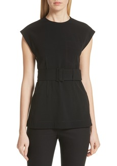 Derek Lam 10 Crosby Belted Tunic Top