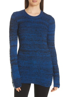 Derek Lam 10 Crosby Bi-Color Crewneck Sweater