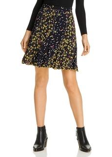 Derek Lam 10 Crosby Bront� Mixed Print Mini Skirt