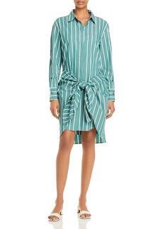 Derek Lam 10 Crosby Charlotte Cotton Tie Waist Shirt Dress