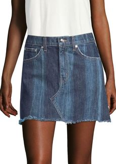 Derek Lam Cleo Denim Mini Skirt