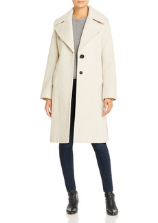 Derek Lam 10 Crosby Color-Blocked Wool-Blend Coat
