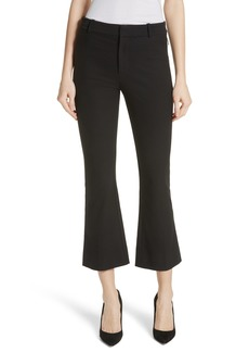 Derek Lam 10 Crosby Core Twill Crop Flare Pants