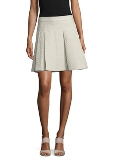 Derek Lam Cotton Box-Pleat Skirt