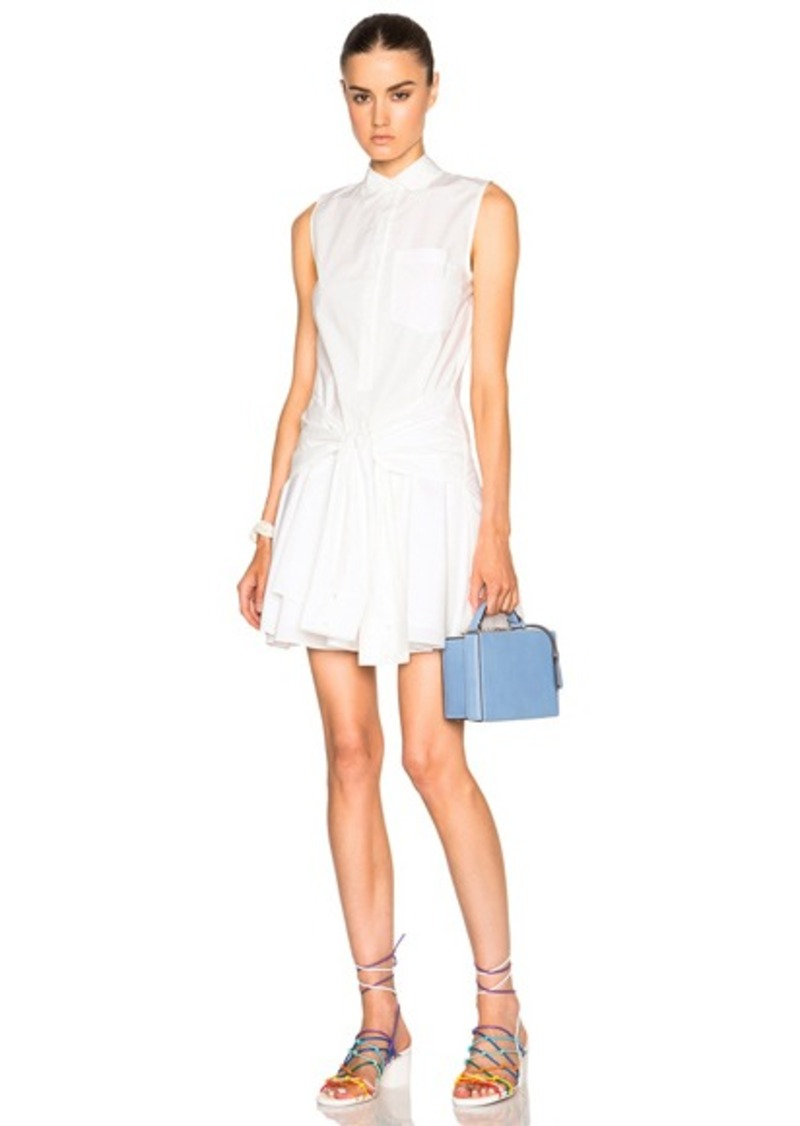 DEREK LAM 10 CROSBY Cotton Poplin Dress