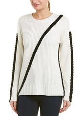 Derek Lam 10 Crosby Crew Wool Sweater