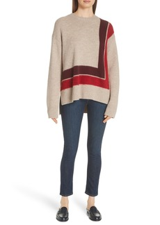 Derek Lam 10 Crosby Crewneck Blanket Sweater