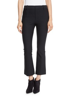Derek Lam Cropped Flare Stretch Trousers