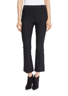 Derek Lam 10 Crosby Cropped Flare Stretch Trousers