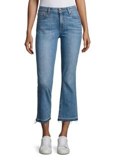 DEREK LAM 10 CROSBY DENIM Gia Cropped Flared Jeans