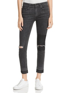 Derek Lam 10 Crosby Devi Ankle High-Rise Authentic Skinny in Gray