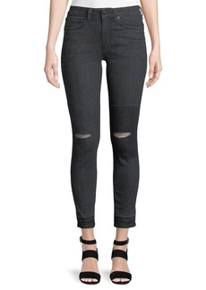 Derek Lam Devi Authentic Skinny Distressed Jeans