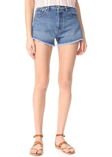 Derek Lam 10 Crosby Drew High Rise Classic Cutoff Shorts