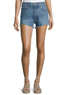 Derek Lam Drew High-Rise Classic Vintage Jean Cutoff Shorts