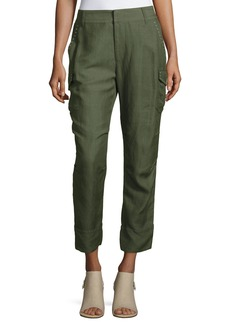 Derek Lam 10 Crosby Easy Cargo Pants with Grommets