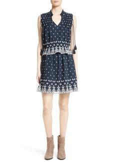 Derek Lam 10 Crosby Embroidered Convertible Dress